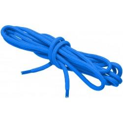 NIEBIESKIE Sportowe sznurowadła FI 4,5 MM