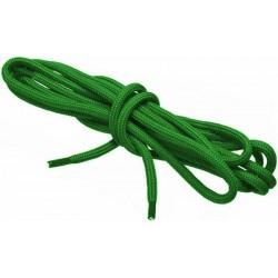 ZIELONE Sportowe sznurowadła FI 4,5 MM