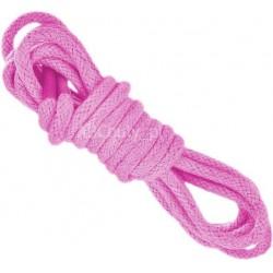 RÓŻOWE Średnie okrągłe sznurowadła 3,5 mm