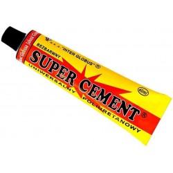 Uniwersalny Klej SUPER CEMENT Bezbarwny i Poliuretanowy JAKOŚĆ GLOBUSA - pojemność 40 ml / G13-56