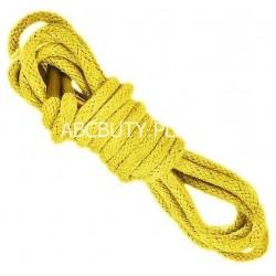 ŻÓŁTE Cienkie okrągłe sznurowadła 2,5 mm
