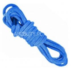 NIEBIESKIE Średnie okrągłe sznurowadła 3,5 mm
