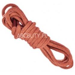 JASNY BRĄZ Grube okrągłe sznurowadła 5 mm