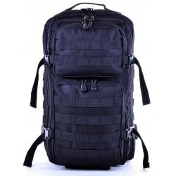 CZARNY MILITARNY NIEPRZEMAKALNY PLECAK TAKTYCZNY TORNISTER BAG STREET EXTREM / G4-89