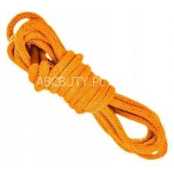 POMARAŃCZOWE Cienkie okrągłe sznurowadła 2,5 mm