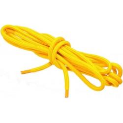 ZÓŁTE Sportowe sznurowadła FI 4,5 MM