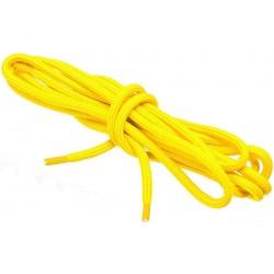 ZÓŁTE NEONOWE Sportowe sznurowadła FI 4,5 MM
