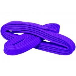 FIOLETOWE Szerokie sznurowadła 7 mm