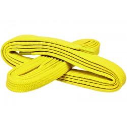 ŻÓŁTE Szerokie sznurowadła 7 mm