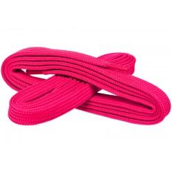 RÓŻOWE Szerokie sznurowadła 7 mm