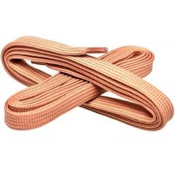 BEŻOWE Szerokie sznurowadła 7 mm