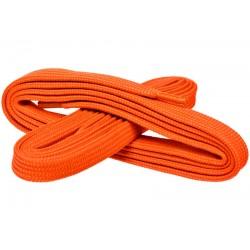 POMARAŃCZOWY NEON Szerokie sznurowadła 7 mm
