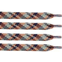 KHAKI-BRĄZOWY Trekkingowe sznurowadła 9 mm